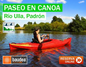 Canoas en Galicia [Río Ulla, Padrón]